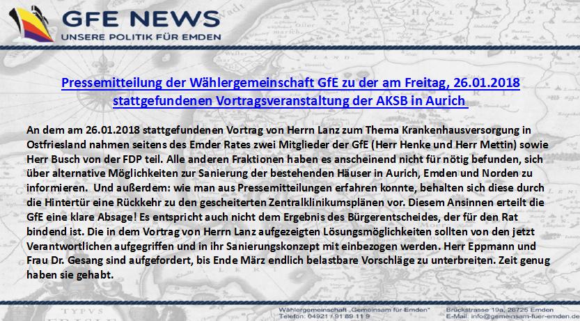AKSB Stellungnahme