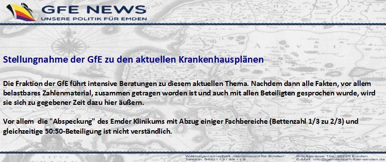 Stellungnahme GfE Klinikum in Georgsheil1