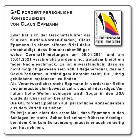Rücktritt Eppman