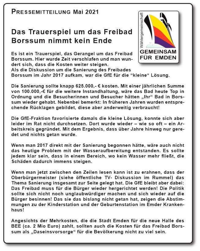 PM Freibad Borssum